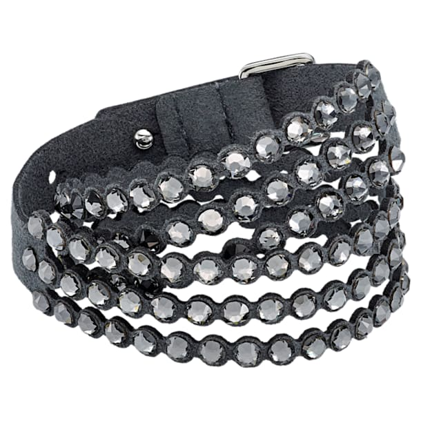 Pulsera Swarovski Power Collection, gris oscuro - Swarovski, 5512509