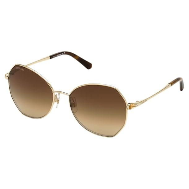 Okulary przeciwsłoneczne Swarovski, SK266 - 32G, brązowe - Swarovski, 5512850