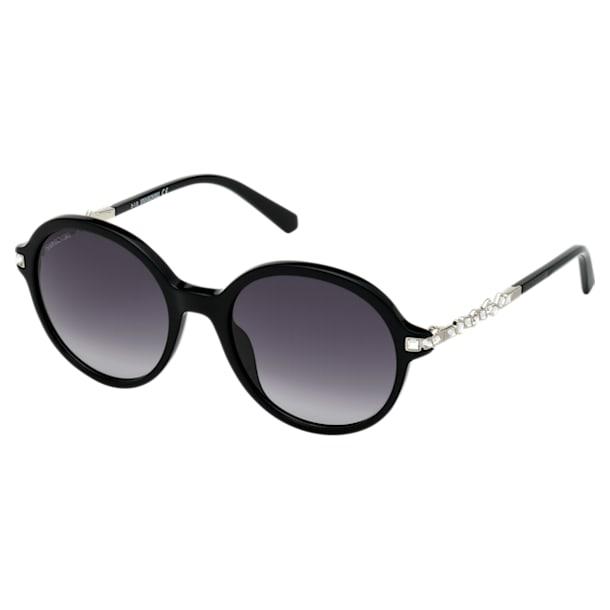 Okulary przeciwsłoneczne Swarovski, SK264 - 01B, czarne - Swarovski, 5512851