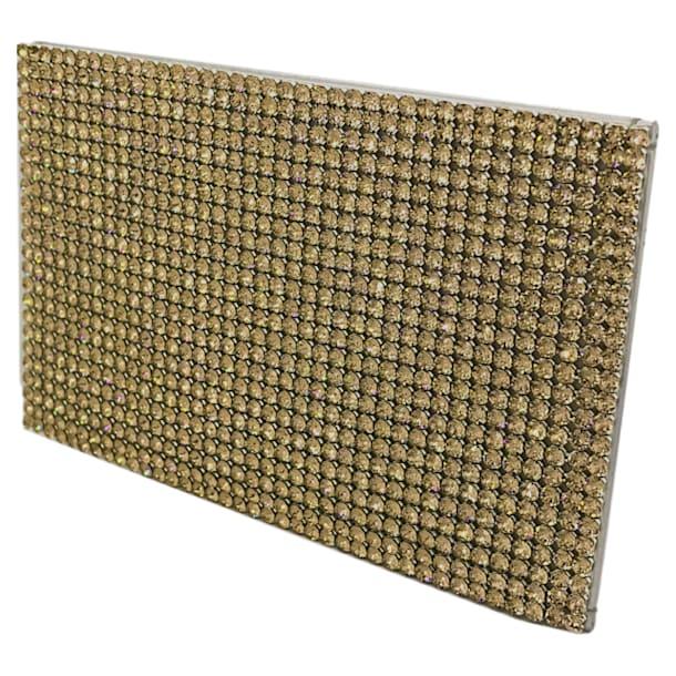 Marina Card Holder, Golden - Swarovski, 5513491