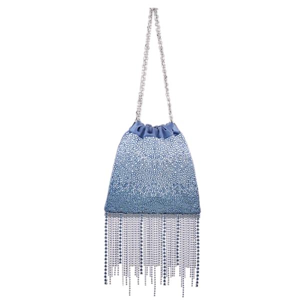 Fringe Benefit Hotfix Bag, Blue - Swarovski, 5517614