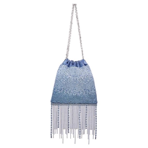Fringe Benefit Hotfix Bag, Blue - Swarovski, 5517614