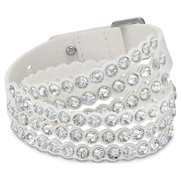 Braccialetto Swarovski Power Collection, bianco - Swarovski, 5518697
