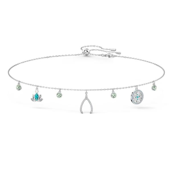 Swarovski Symbolic Charm Halskette, Mehrfarbig, rhodiniert - Swarovski, 5521449