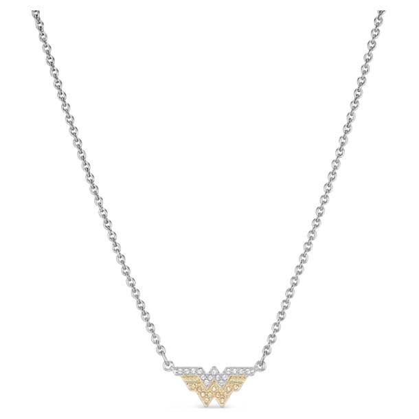 Κολιέ Fit Wonder Woman, χρυσή απόχρωση, μεικτό μεταλλικό φινίρισμα - Swarovski, 5522407