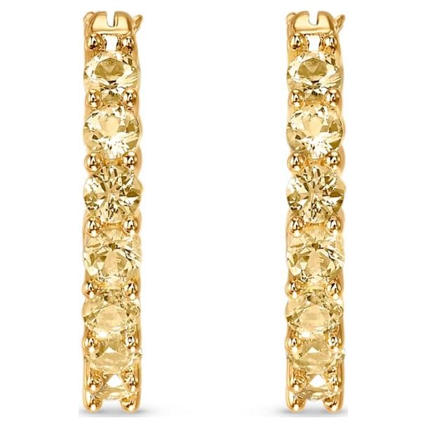 Vittore Серьги-обручи, Оттенок золота Кристалл, Покрытие оттенка золота - Swarovski, 5522880