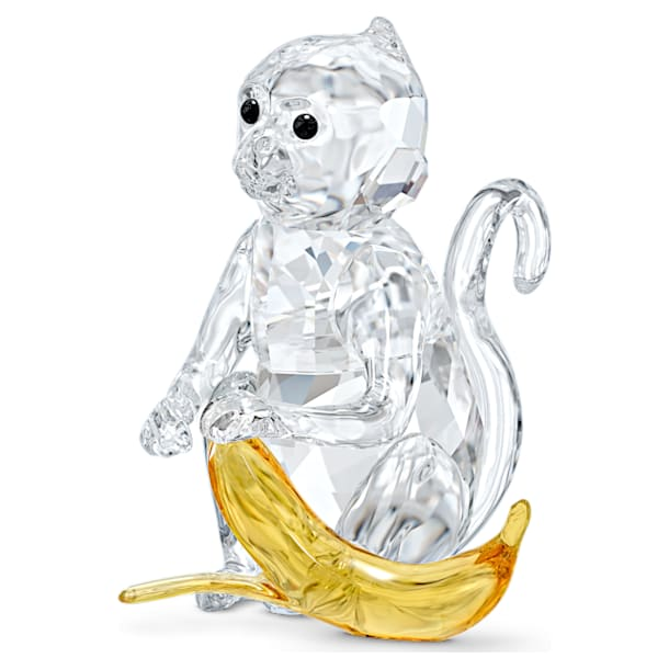Monkey with Banana - Swarovski, 5524239