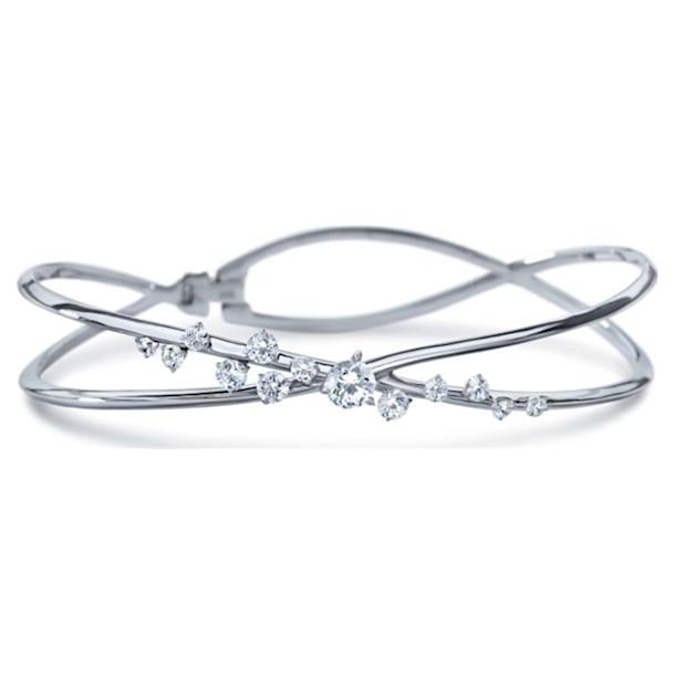 Encounter Bracelet, Swarovski Created Diamonds, 18K White Gold - Swarovski, 5524718