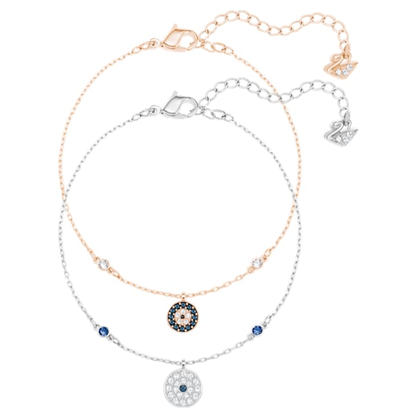 Parure Crystal Wishes Evil Eye, multicolore, Finition mix de métal - Swarovski, 5528199