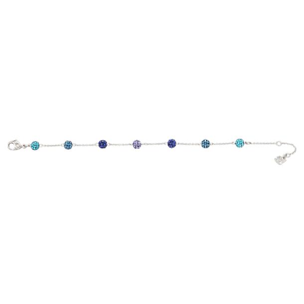 Blow armband, Meerkleurig, Rodium toplaag - Swarovski, 5528200