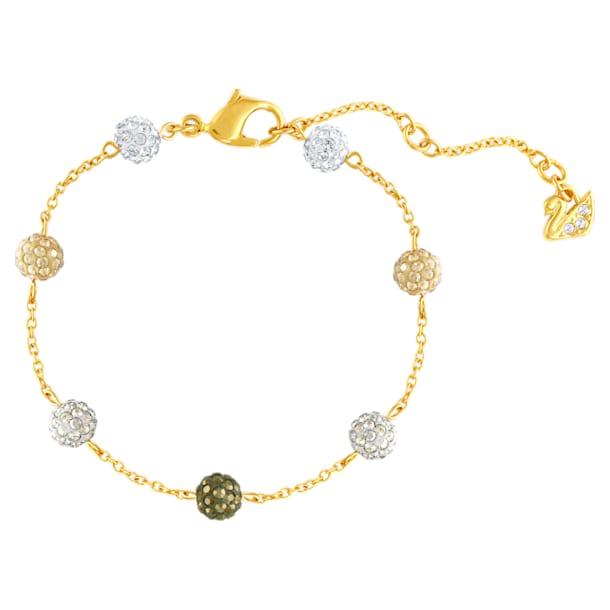 Blow bracelet, Multicolored, Gold-tone plated - Swarovski, 5528202