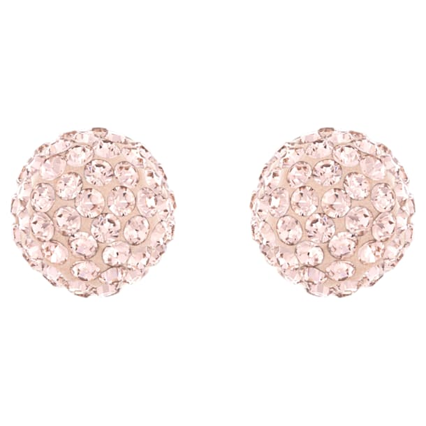 Blow 이어링, 핑크, 로즈골드 톤 플래팅 - Swarovski, 5528456