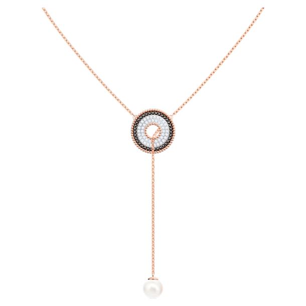 Collar en Y Lollypop, multicolor, Baño en tono Oro Rosa - Swarovski, 5528732