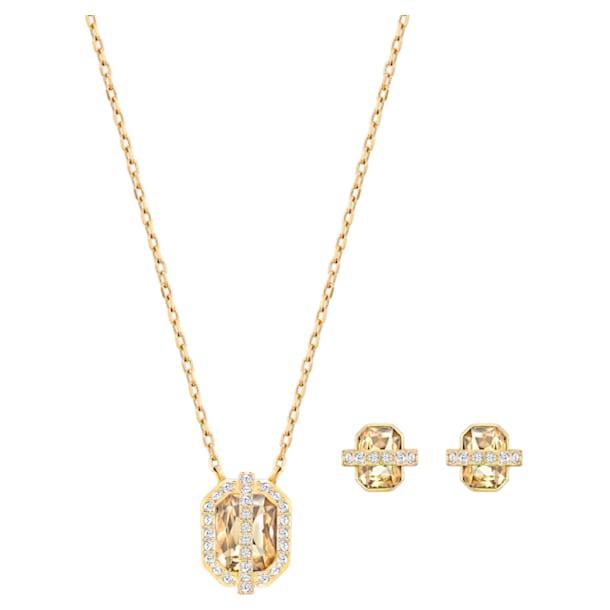 Favor set, Gold tone, Gold-tone plated - Swarovski, 5528953