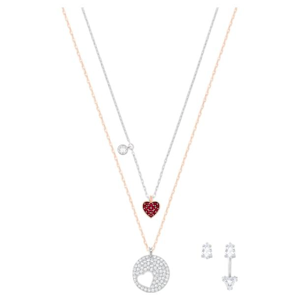 Crystal Wishes Set medál, Többszínű, Vegyes fém kivitelben - Swarovski, 5528973