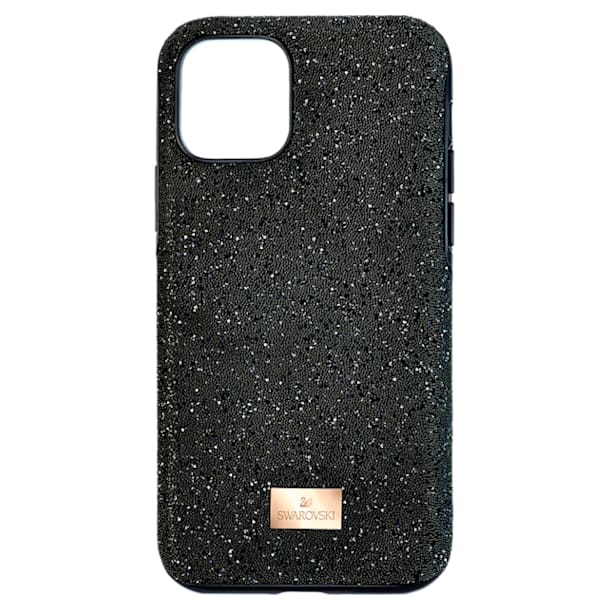 High okostelefon tok, iPhone® 11 Pro, fekete - Swarovski, 5531144