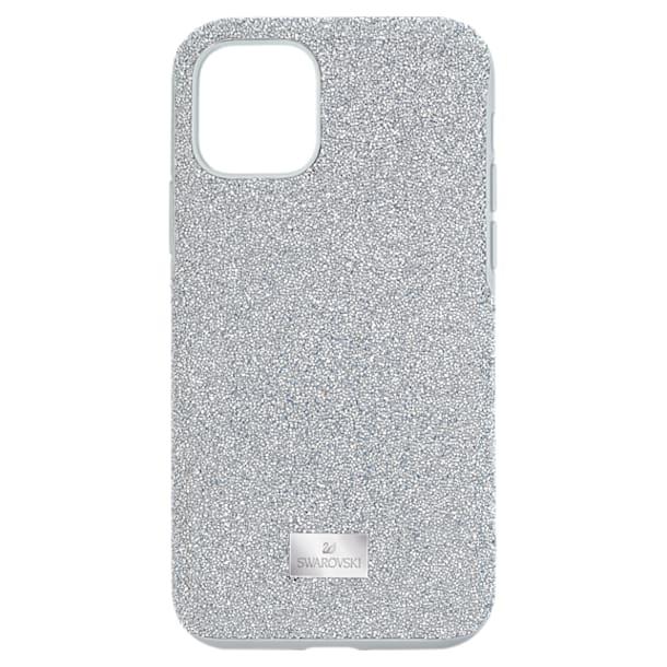 High Smartphone Case, iPhone® 11 Pro, Silver tone - Swarovski, 5531146