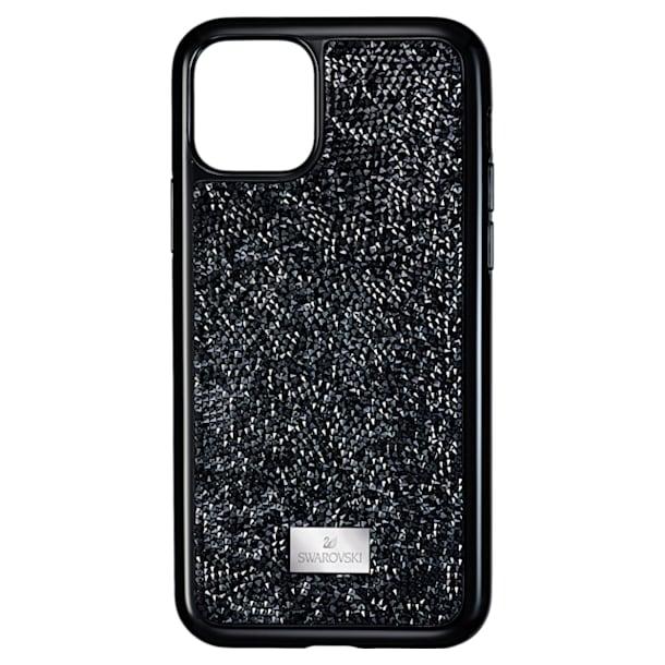 Glam Rock smartphone case , iPhone® 11 Pro, Black - Swarovski, 5531147