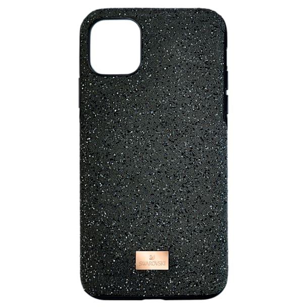 High smartphone case, iPhone® 11 Pro Max, Black - Swarovski, 5531150