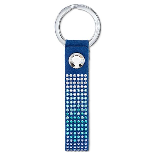 Anniversary Key Ring, Blue, Stainless steel - Swarovski, 5533070