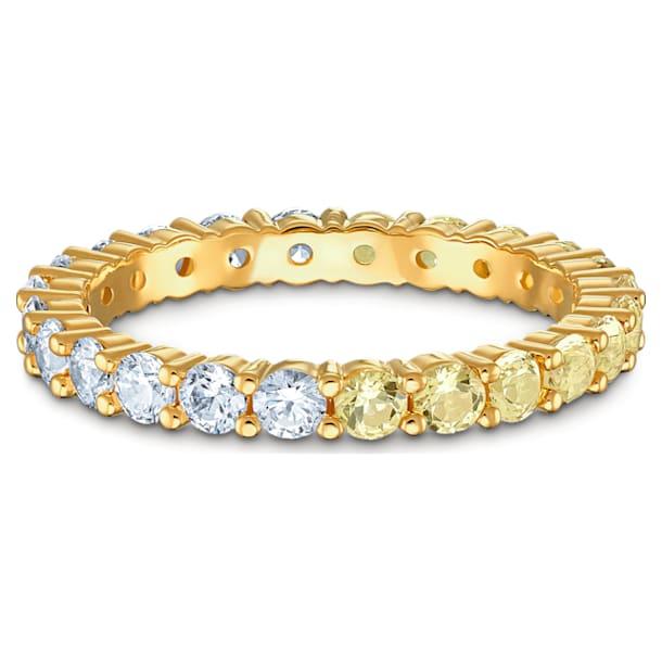 Vittore Half 戒指, 金色, 鍍金色色調 - Swarovski, 5535246