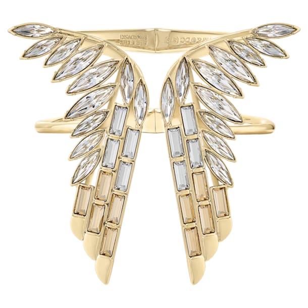 Wonder Woman 阔手镯, 金色, 镀金色调 - Swarovski, 5535588