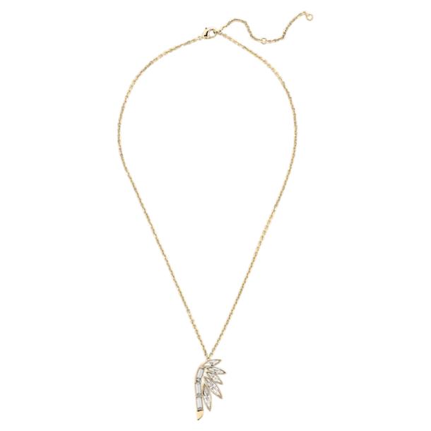 Pendente Woman Pendant, branco, banhado a dourado - Swarovski, 5535916