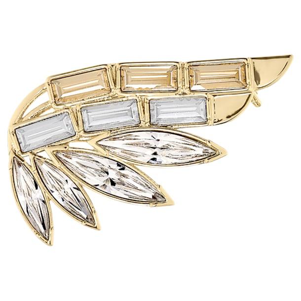 Brož Wonder Woman, zlatá, pozlacená - Swarovski, 5535917