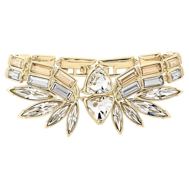 Bracciale rigido Wonder Woman, tono dorato, placcato color oro - Swarovski, 5535967