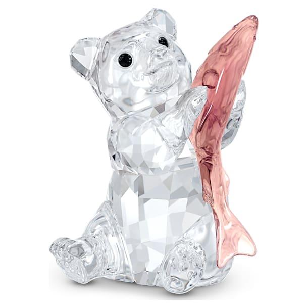Медведь с рыбой - Swarovski, 5536772