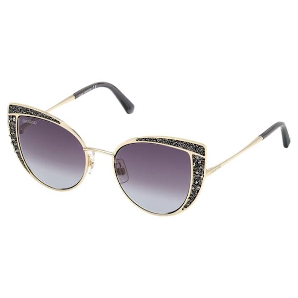 Okulary przeciwsłoneczne Swarovski, SK0282 32B, czarne - Swarovski, 5537323