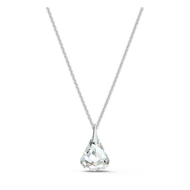 Pendentif Spirit, blanc, métal rhodié - Swarovski, 5538066