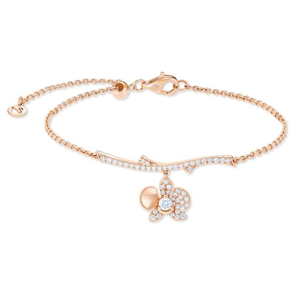 闪耀如兰18K玫瑰金钻石手链 - Swarovski, 5538157