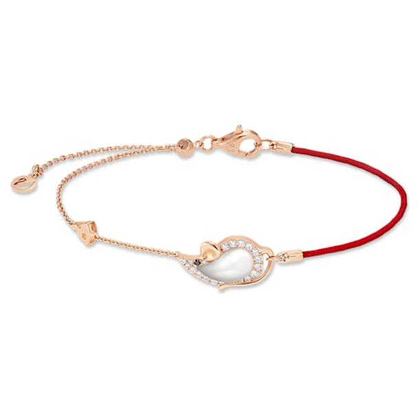 18K RG Zodiac Mouse Bracelet - Swarovski, 5538173