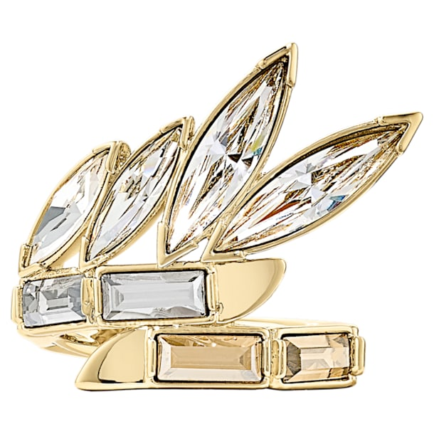 Wonder Woman-ring, Goudkleurig, Goudkleurige toplaag - Swarovski, 5538417
