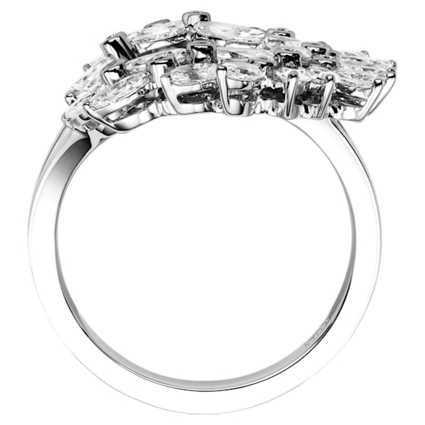 Luna Ring, 18K White Gold, Size 58 - Swarovski, 5539742