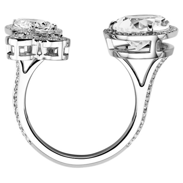 Lola Cocktail Ring, 18K White Gold, Size 52 - Swarovski, 5541955