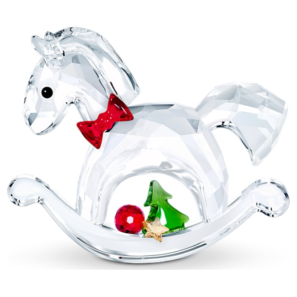 ロッキングホース メリークリスマス - Swarovski, 5544529