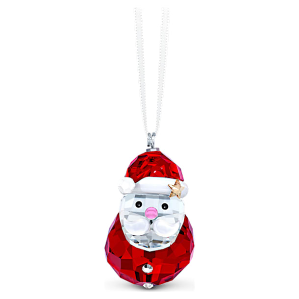 Ornament Moș Crăciun care se leagănă - Swarovski, 5544533