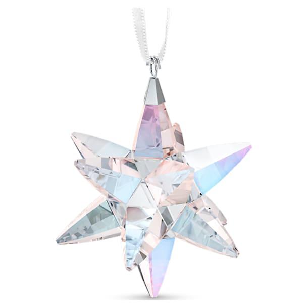 Star Ornament, Shimmer, medium - Swarovski, 5545450