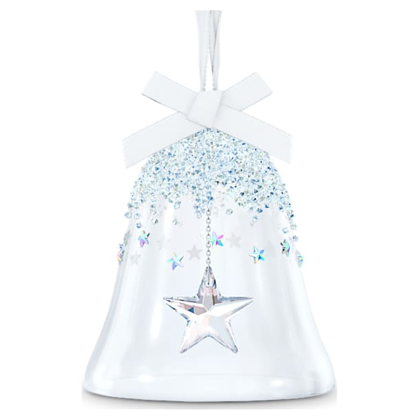 Bell Ornament, Star, large - Swarovski, 5545451
