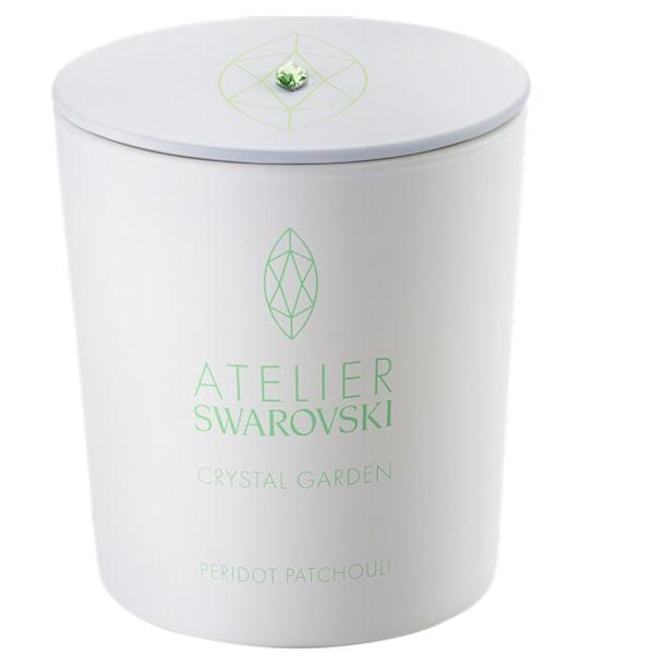 Crystal Garden Candle, Green, Peridot Patchouli - Swarovski, 5547119