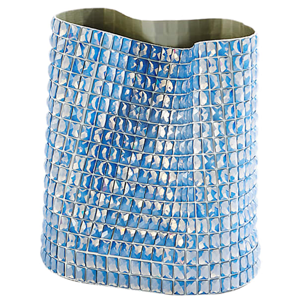 Vase Brillo, medium, bleu - Swarovski, 5550452