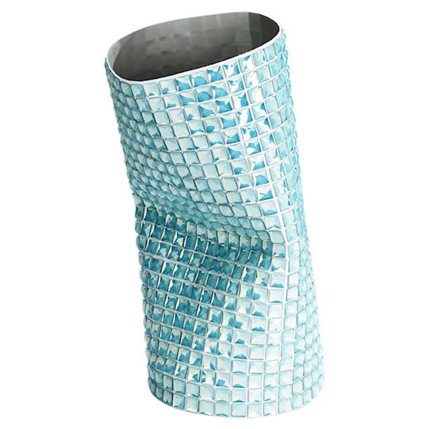Vase Brillo, large, vert - Swarovski, 5550453