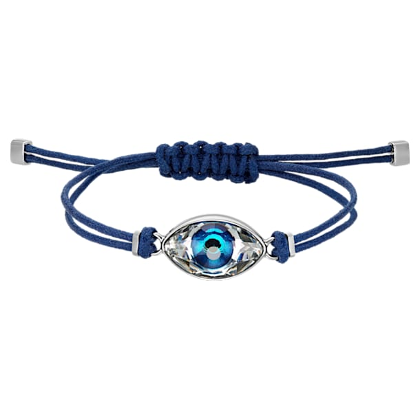 Bracelet Swarovski Power Collection Evil Eye, bleu, acier inoxydable - Swarovski, 5551804