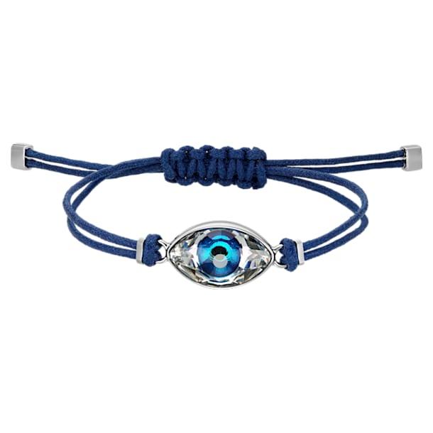 Swarovski Power Collection Evil Eye bracelet, Evil eye, Medium, Blue, Stainless steel - Swarovski, 5551804