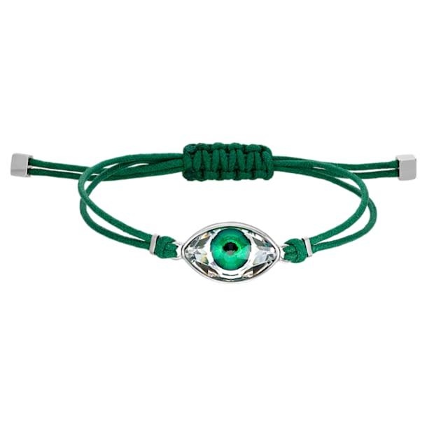 Bracelet Swarovski Power Collection Evil Eye, vert, acier inoxydable - Swarovski, 5551805