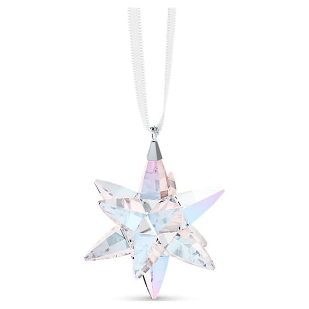 Ozdoba Hvězda, třpytivá, malá - Swarovski, 5551837
