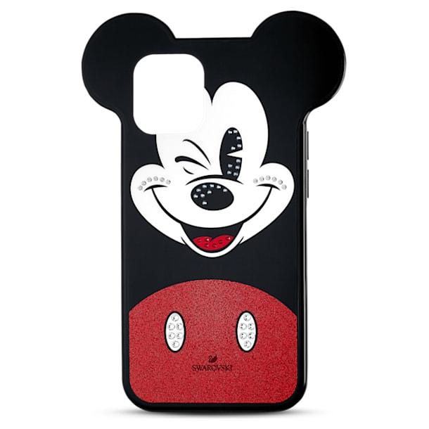 Husă pentru smartphone Mickey, iPhone® 12/12 Pro, multicoloră - Swarovski, 5556465