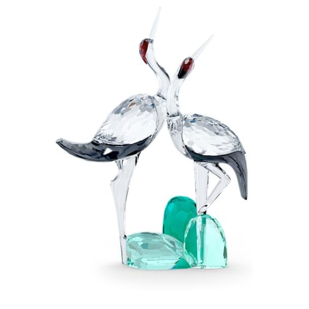 Among Blue Mountains Singing Cranes - Swarovski, 5557819